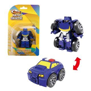 Трансформер Робот-полицейская машина, блистер