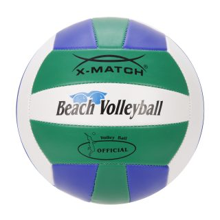 Мяч волейбольный X-Match зелен-син-белый, 2 слоя ПВХ