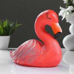 """Копилка """"Фламинго большой"""" розовый 24см 4849262"""