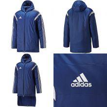 Тёмно-синяя зимняя куртка adidas Condivo 14 Stadium Jacket
