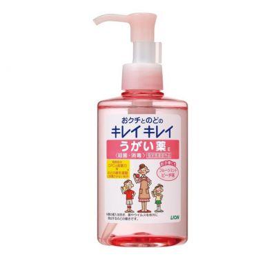 """052067 """"Lion"""" """"KireiKirei"""" ополаскиватель для полости рта с антибактериальным эффектом и ментолово-п"""
