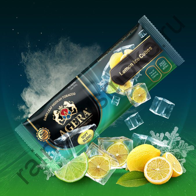 Agera Soft 250 гр - Lemon Ice Cubes (Лимонный кубик льда)