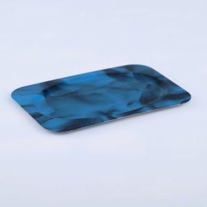 Поднос «Семечко», заготовка под роспись, 12?8 см, синий   4443752