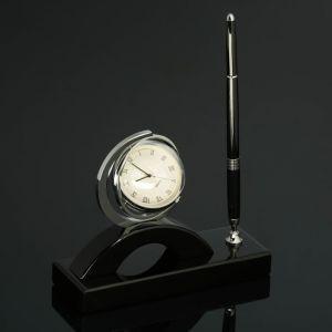 Набор настольный 2в1 (ручка, часы) 4428147