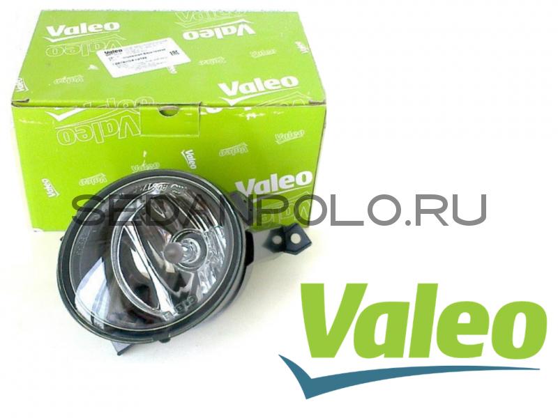 Фара противотуманная правая VALEO для Volkswagen Polo Sedan