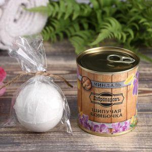 Шипучая бомбочка в банке, персидская соль, миндаль 4806571