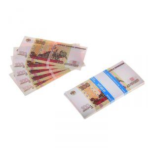 Пачка купюр 100 рублей 770165