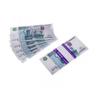Пачка купюр 1000 рублей 770167