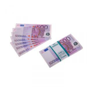 Пачка купюр 500 евро 770169