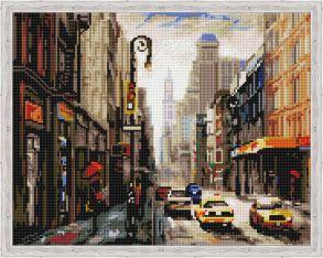 Алмазная мозаика «Деловой город» 40x50 см