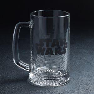 Кружка для пива «Star Wars Logo. Ладья», 500 мл