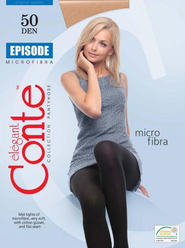 Женские колготки теплые CONTE Episode 50 Den NERO CON206