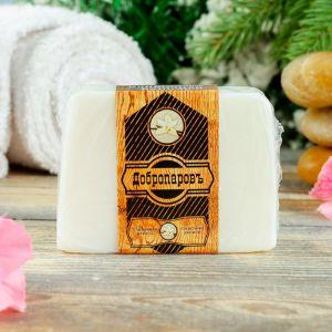 """Косметическое мыло для бани и сауны """"Сливочная ваниль"""", """"Добропаровъ"""", 100 гр.   2922010"""