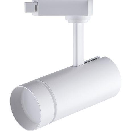 Светодиодный светильник Feron AL106 трековый на шинопровод 12W 4000K 80 градусов белый Артикул