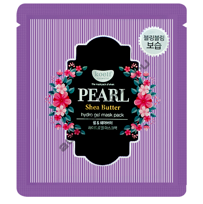 Koelf - Гидрогелевая маска Koelf Pearl & Shea Butter Hydrogel Mask Pack