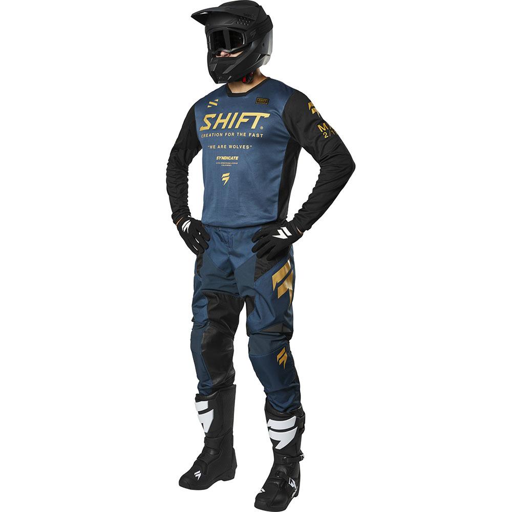Shift - 2019 Whit3 Label Muse Navy комплект джерси и штаны, темно-синие