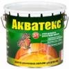 Антисептик Акватекс 18л Бесцветный для Внутренних и Наружных Работ