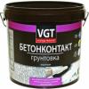 Грунт Бетонконтакт VGT ВД-АК-0301 Контактный 8кг под Штукатурку с Мраморной Крошкой, Белый / ВГТ Бетонконтакт