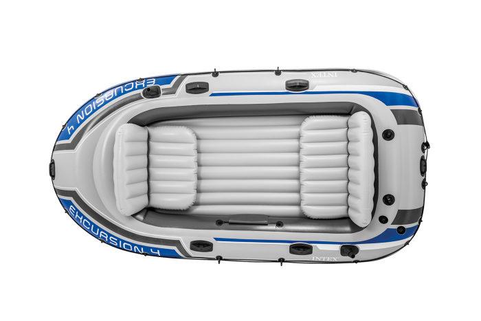 Надувная лодка экскурсия-4 315х145х43см/весла алюм./насос ручной
