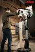 Напольный сверлильный станок профессиональный 0,55 кВт 400 В (дерево/металл) JET JDP-17 716300T