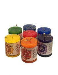 Чакровая свеча ароматическая Муладхара (Деньги)