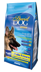 SPECIAL DOG корм для взрослых собак со свежей курицей, 15 кг