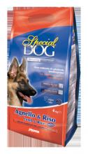 SPECIAL DOG корм для взрослых собак ягненок с рисом, 15 кг