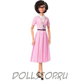 Коллекционная кукла Барби Кэтрин Джонсон - Barbie Inspiring Women Series Katherine Johnson Doll 2018
