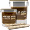Герметик Акриловый Wepost Wood 600мл Однокомпонентный для Деревянного Домостроения