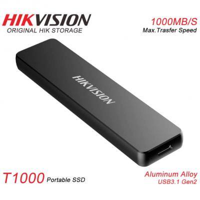 1TB Внешний USB3.1 Type-C накопитель E-SSD T1000 Hikvision (1000MB/s) 3г/гар