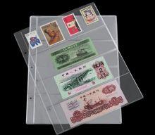 Лист для банкнот Numis на 4 ячейки