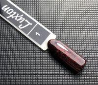 Гель-лак Luxton №001 (черный с красными блестками), 10 мл