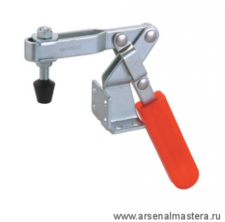 Зажим механический 60градус. ручкой усилие 100 кг, база двойной монтаж 38/70мм GOOD HAND GH-20820