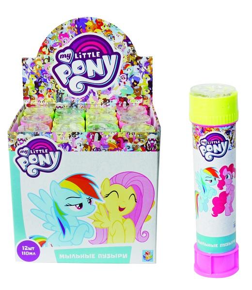 1toy My Little Pony, мыльные пузыри, бут. 110 мл