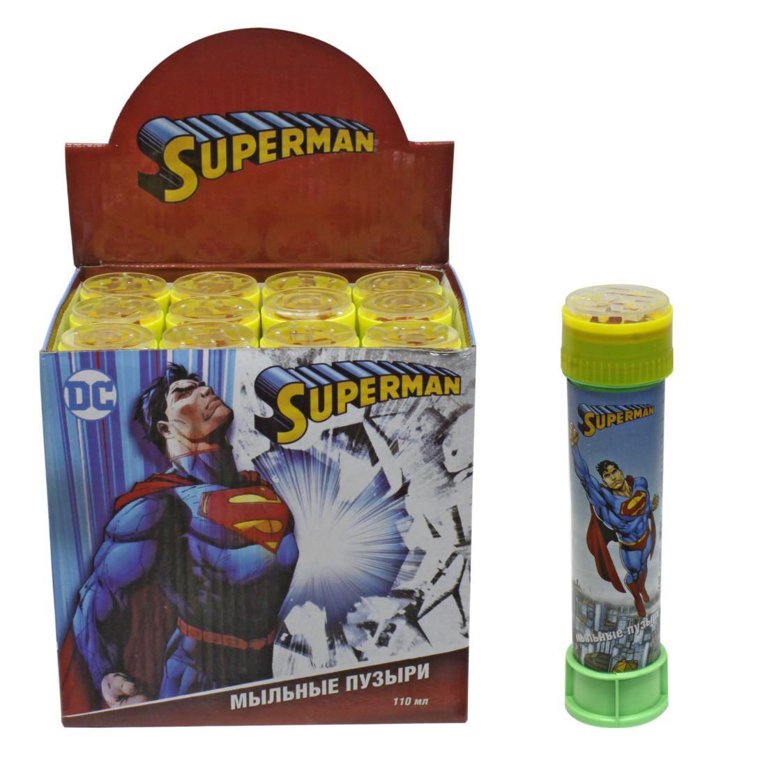 1toy Superman, мыльные пузыри, бут. 110 мл