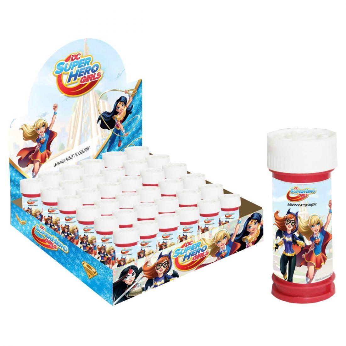 1toy Super Hero Girls, мыльные пузыри, 50 мл