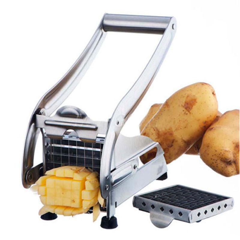 Картофелерезка для картофеля фри металлическая Potato chipper