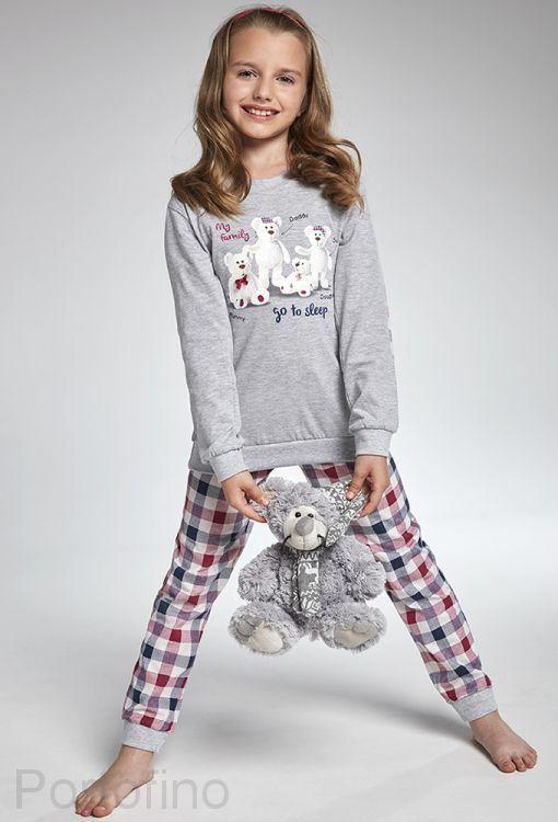 176-102 Пижама детская длинный рукав Cornette