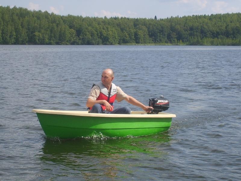 Пластиковая лодка ВИЗА Тортилла