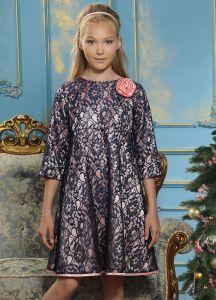 Платье для девочки нарядное из гипюра