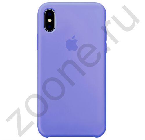 Аметистовый силиконовый чехол для iPhone XS Max Silicone Case