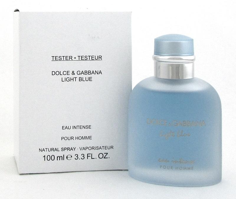 Тестер Dolce & Gabbana Light Blue Eau Intense Pour Homme 125 мл