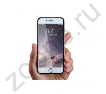 Защитное стекло для iPhone 6 Full Frame черное