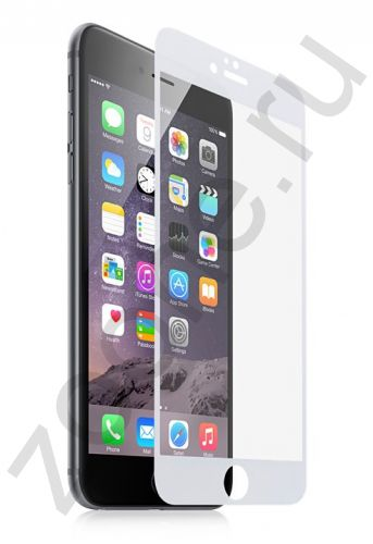 Защитное стекло для iPhone 6 Momax Glass Pro+ Full Frame White