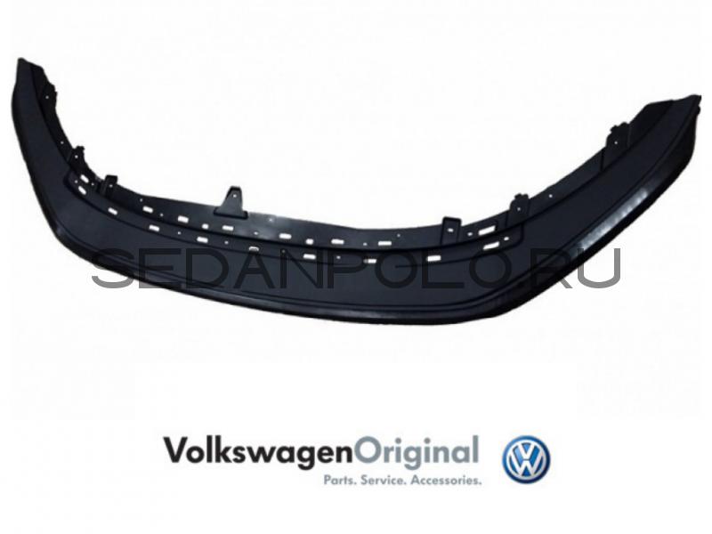 Спойлер переднего бампера VAG Рестайлинг Volkswagen Polo Sedan