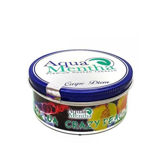 Табак для кальяна Aqua Mentha-Aqua Crazy Peach 250г