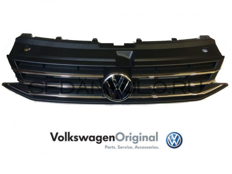 Решетка радиатора VAG (в сборе) Volkswagen Polo Sedan
