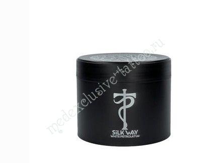 Silk Way™ вазелин для татуировки с экстрактом шалфея и витаминами D и E, 300 мл