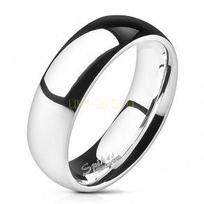 Полированное обручальное стальное кольцо Spikes (арт. 280162)