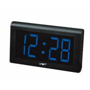VST-780-5 Часы электронные, синие. Большие настенные